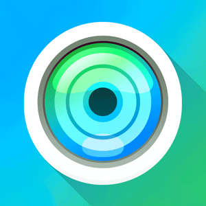 FishEye Photo Camera App iOS
